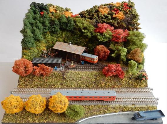No.9 山の鉄道施設たち