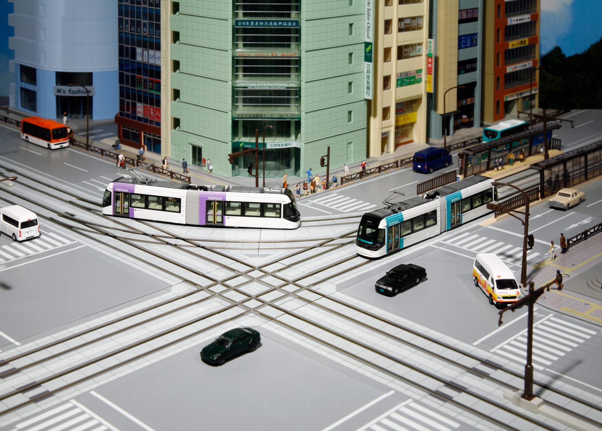 ユニトラム_交差点イメージ