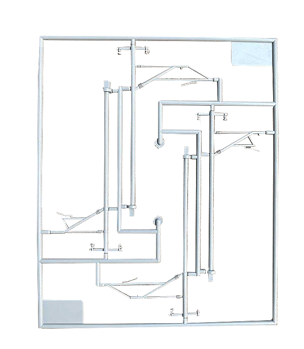 単線架線柱