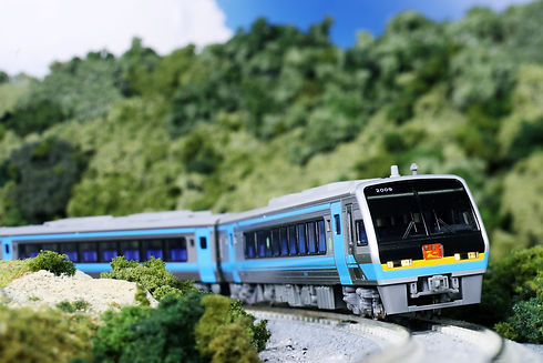 JR四国2000系特急「南風」_diorama.jpg