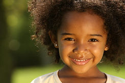 Young Girl Smiling - Day Care in Lancaster, TX | Peaceful Images Child Development Center