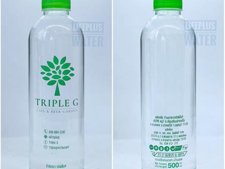 ขอขอบคุณ Triple G Restaurant ที่มอบความไว้วางใจให้เราผลิตน้ำดื่มค่ะ