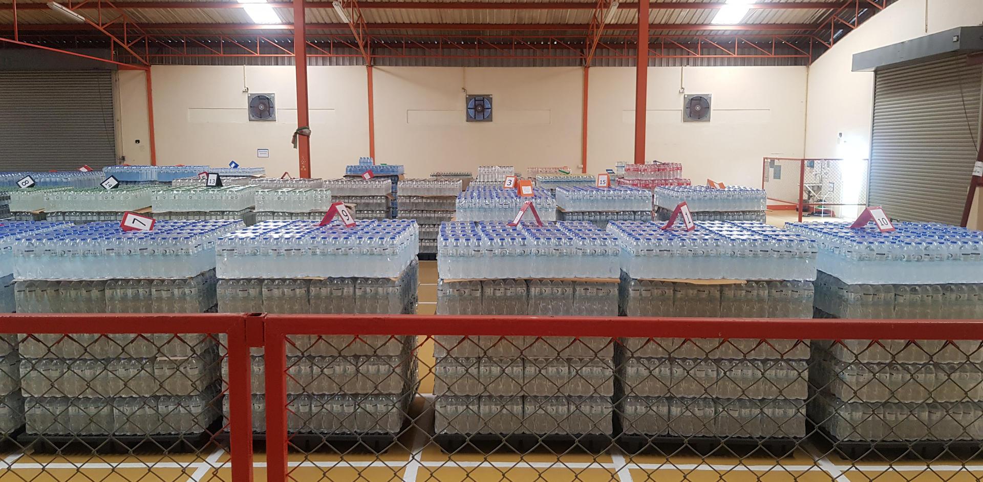 พื้นที่เก็บสินค้า โรงงานผลิตน้ำดื่ม Lifeplus Water