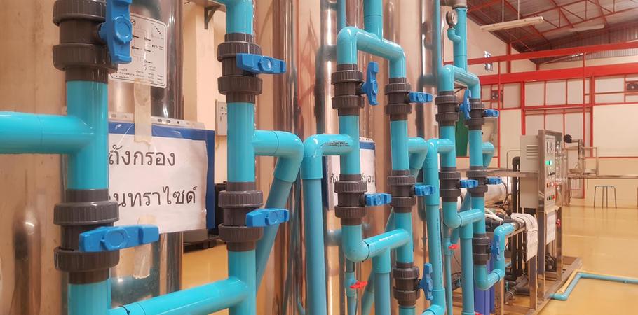 ระบบกรองน้ำ โรงงานผลิตน้ำดื่ม Lifeplus Water