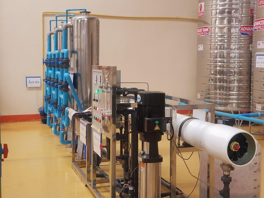 ระบบปรับปรุงคุณภาพน้ำ น้ำอ่อน ระบบ Reverse Osmosis
