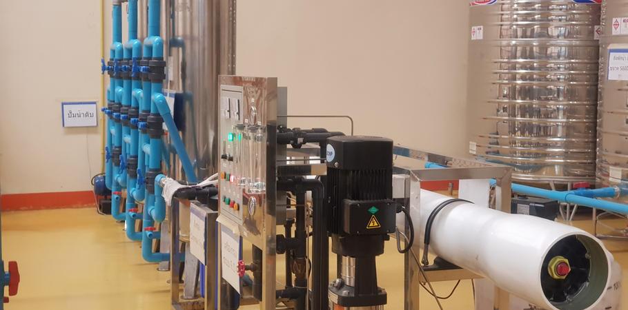 เครื่องกรองน้ำ โรงงานผลิตน้ำดื่ม Lifeplus Water