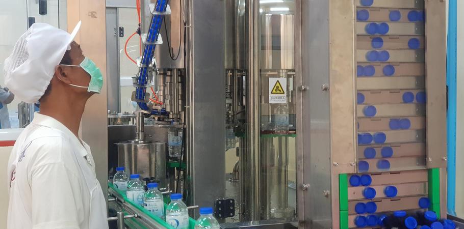 เครื่องบรรจุน้ำดื่ม โรงงานน้ำดื่ม Lifeplus Water