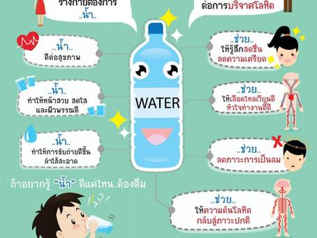 """ทำไมต้อง """"ดื่มน้ำ"""" ก่อนการบริจาคโลหิต"""