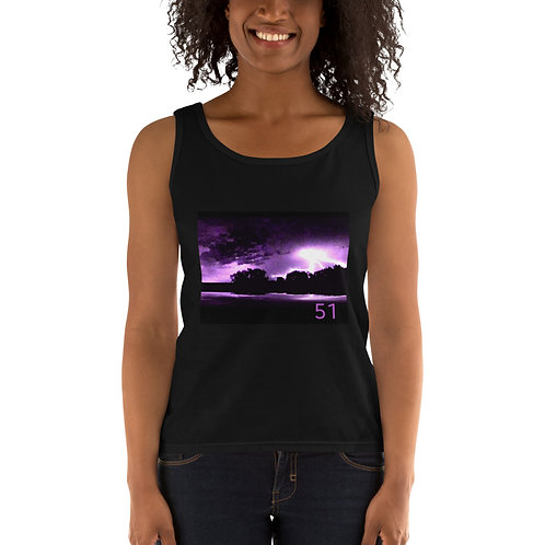 51 The Series Purple Lightning Ladies' Tank
