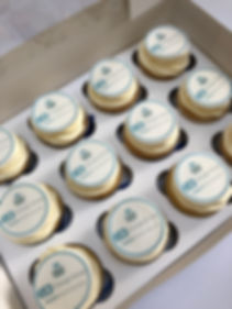 corporate cupcakes ea change group business meeting