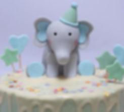 first birthday baby shower cake