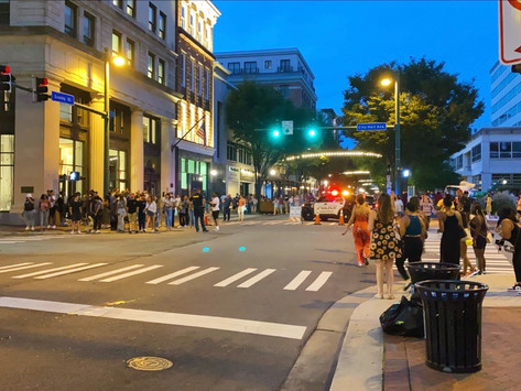 Downtown Norfolk Throws 'First Fridays' Block Party for the First Time in Two Years