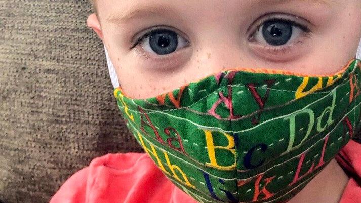 PreK & Kid Contour Face Mask