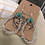 Thumbnail: Mae Earrings, clear 172