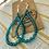 Thumbnail: Mae Earrings, turquoise 136