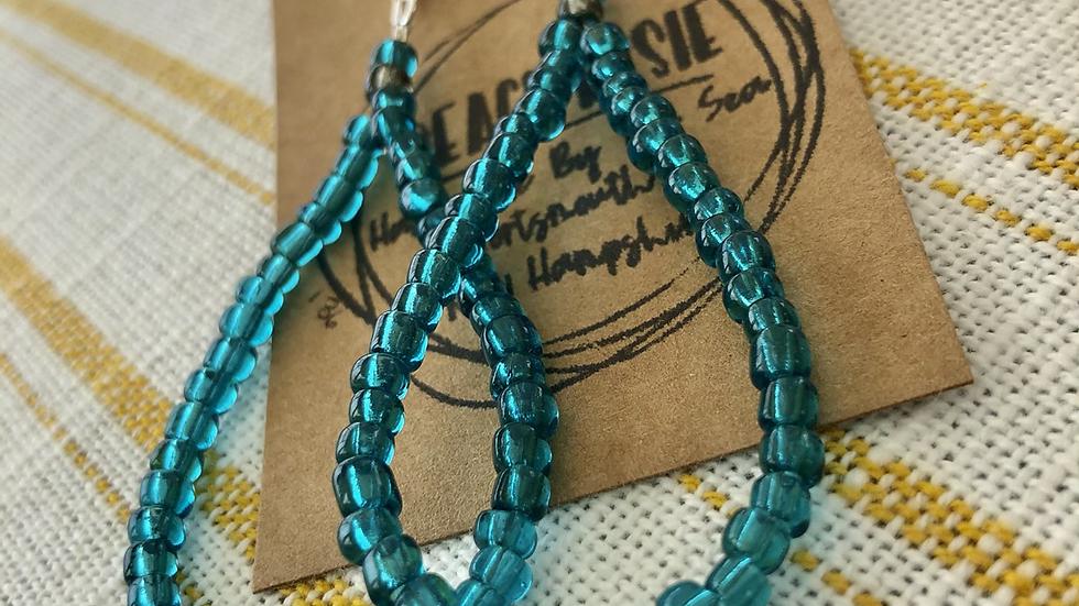 Mae Earrings, turquoise 136