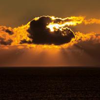 Fig 53 Sunset over the Atlantic Ocean-Ed