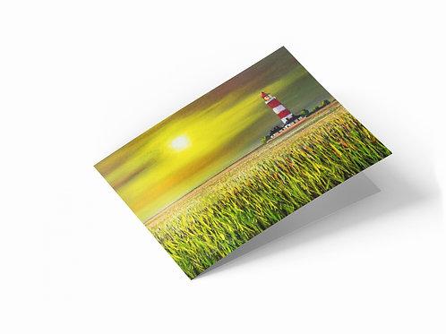 "Corn Field, Happisburgh 7"" x 5"" Landscape Greetings Card"