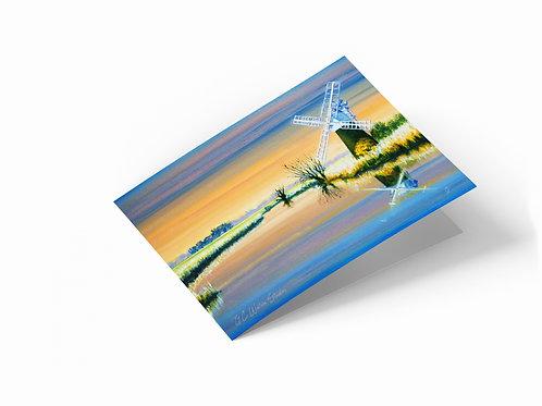"The Norfolk Landscape 7"" x 5"" Landscape Greetings Card"