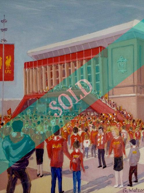 Anfield Original Oil Painting