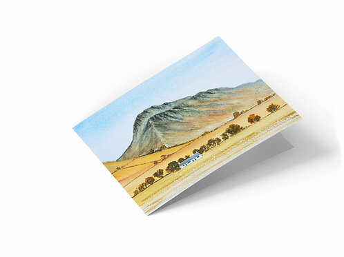 """Great Gable, Cumbria 7"""" x 5"""" Landscape Greetings Card"""