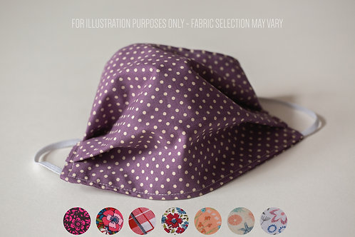 Face Mask (Non-Medical) - Fabric Choice P02 - P37