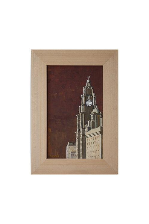 Liverpool at Quarter Past Twelve Original Oil Painting