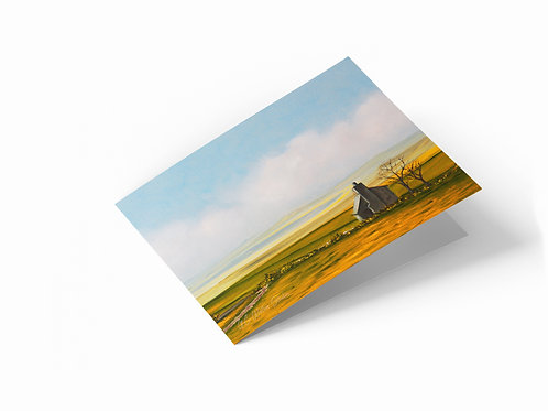 "The Bothy 7"" x 5"" Landscape Greetings Card"
