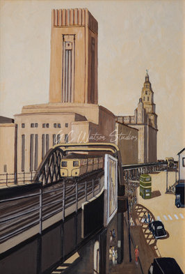 Liverpool Overhead Railway circa 1950