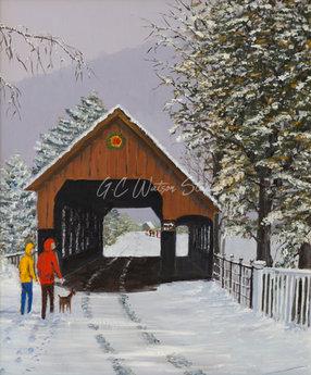 Winter in Woodstock
