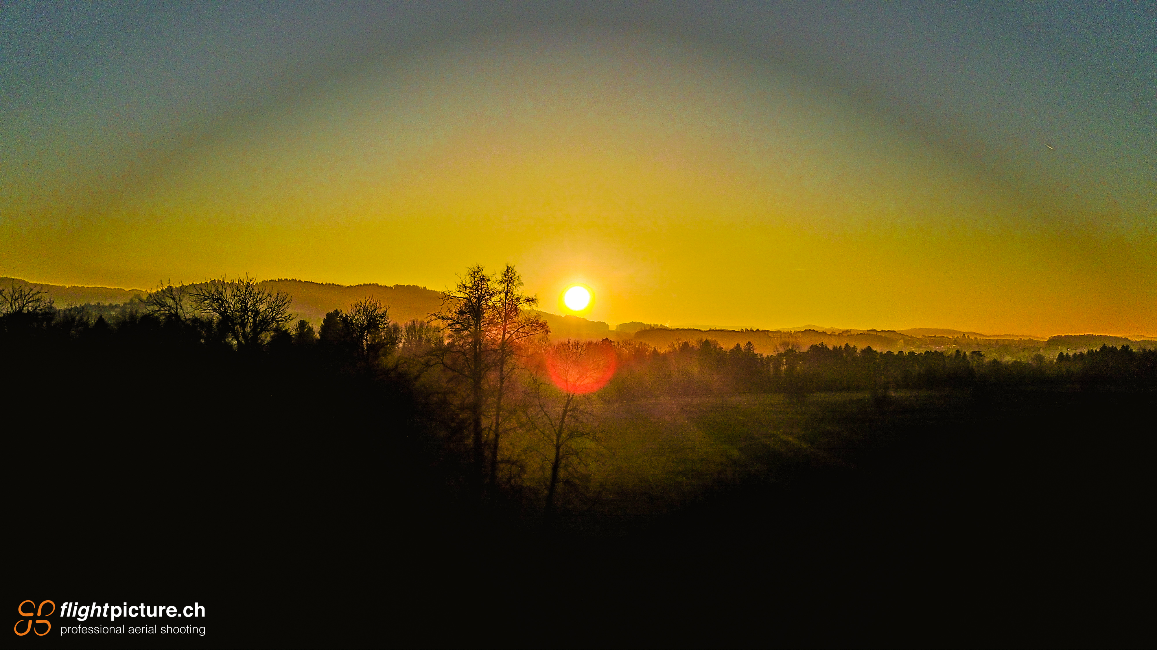 Sonnenuntergang Sonnental