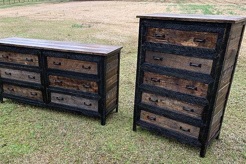 Reclaimed Wood Chest & Dresser