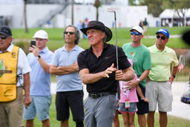 Pro-Am with Greg Norman