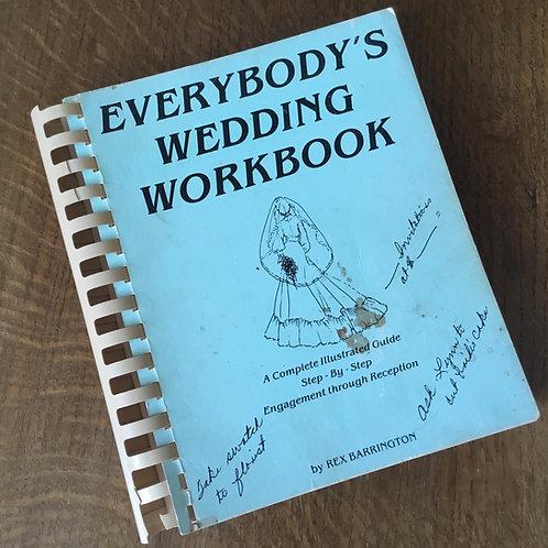 Vintage Wedding Workbook