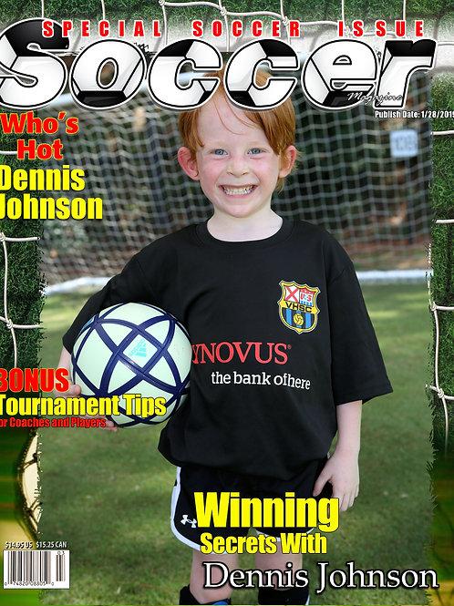 Magazine Cover VHSC