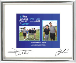 Silver Frame w Signatures