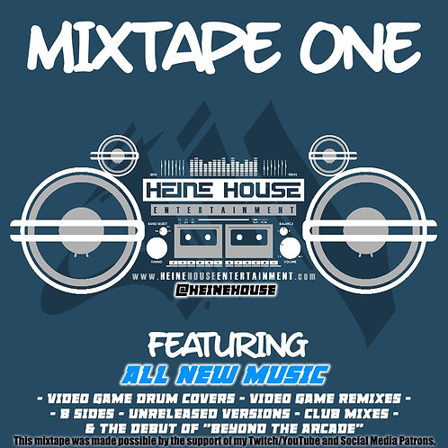 Heine House Mixtape One Custom USB Thumb Drive