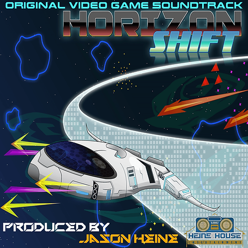 Horizon Shift Original Video Game Soundtrack - Physical CD