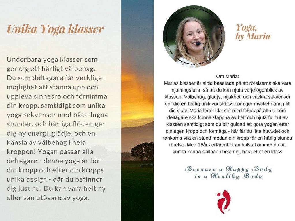Yoga för konferenser och event