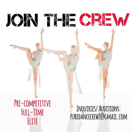 Come join our award winning competitive