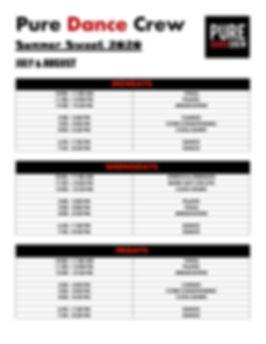 Summer Sweat Schedule- July & August.jpe