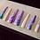 Thumbnail: Purple Pastel Marble Coffin Press-On Nails