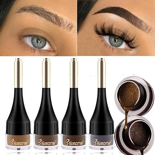 4 Color Eyebrow Cream Enhancers Long-Lasting Waterproof Makeup