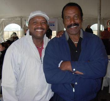 Me & Fred Williamson The Hammer.JPG