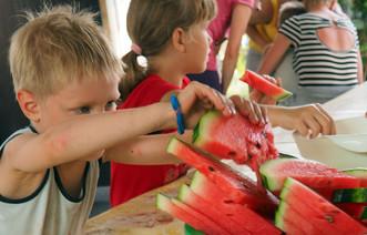 68 детей и родителей провели каникулы на Южной даче «Теплого дома» на Азовском море