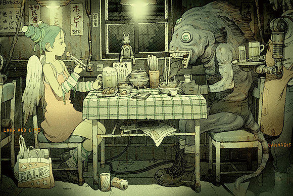 田中達之|「謎幻の機械展」 資料夾 餐桌【d/art獨家】