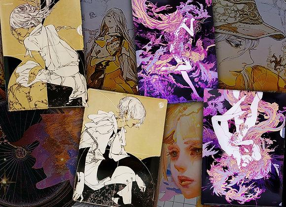 鈴木康士&Blaze Wu | 「鈴木康士&Blaze Wu曙暮罔兩雙人聯展」資料夾【d/art獨家】