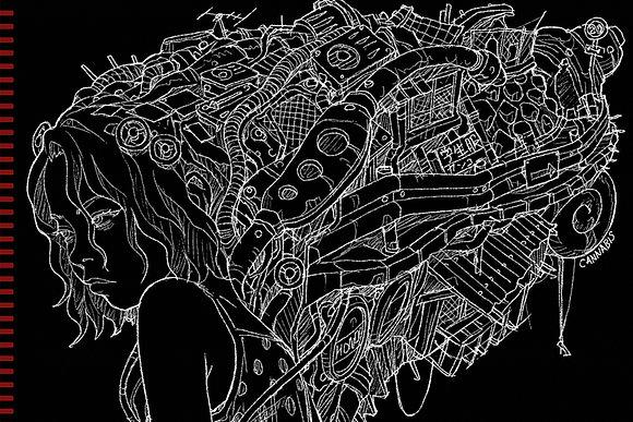 田中達之|「謎幻の機械展」 筆記本
