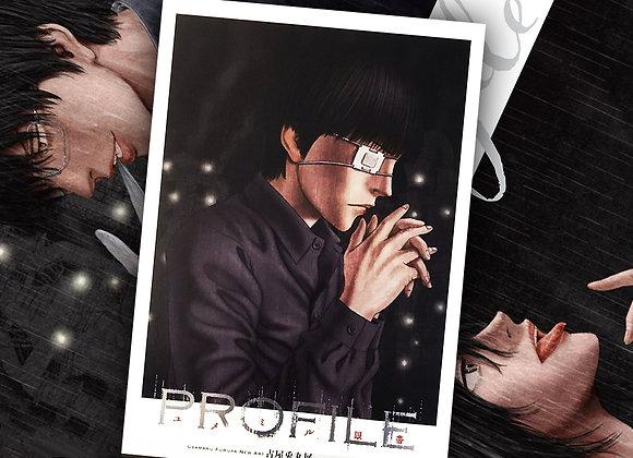 古屋兔丸 | 展覽專刊『profile - ユメミル眼帯』