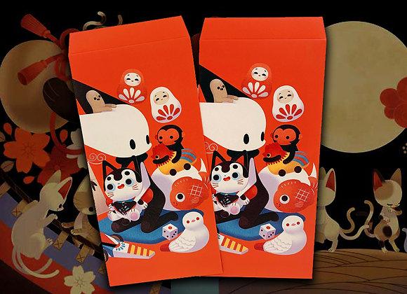 0313 | 「狐狐夜行展」  紅包袋【d/art獨家】